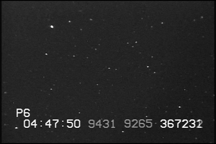 Image os Melete star field taken at x128