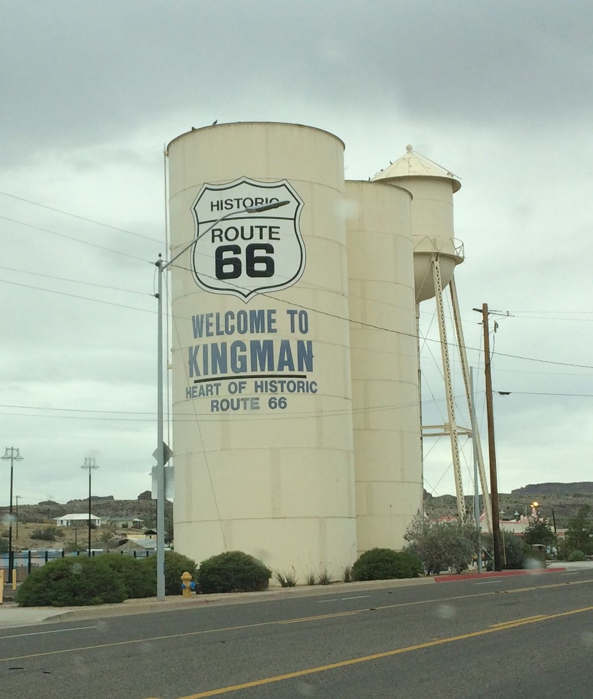 Along Route 66 in Kingman