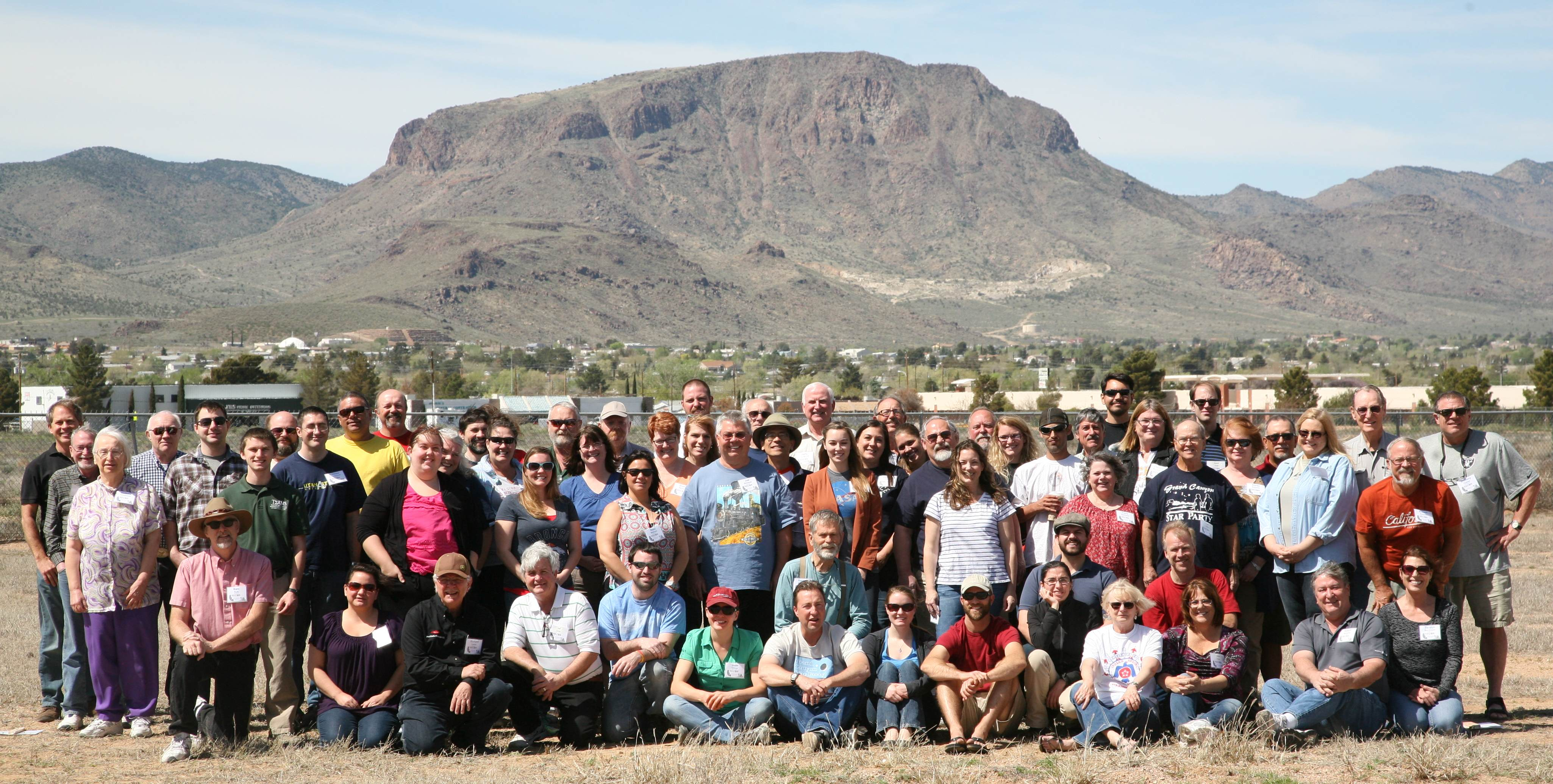 Group photograph from Southern RECON Training Workshop held in Kingman Arizona.