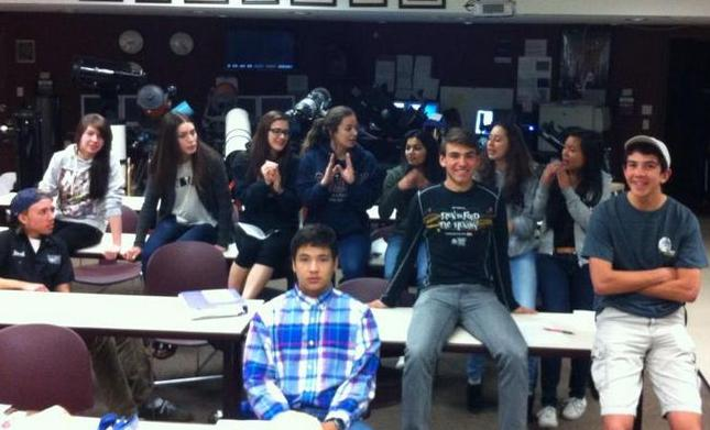 Carson High Physics and Astronomy Classes